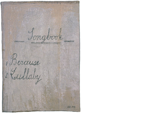 SMALL WHITE SONGBOOK, 1995